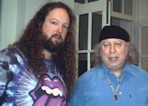Chicago Mike with Fleetwood Mac's Peter Green